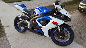 2006 GSXR-600 Safety, Used Vehicle Package. Ready to go.