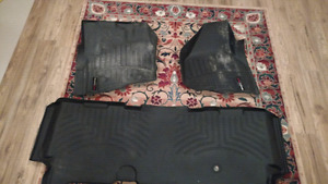 Weathertech floor mats for 2011-2016 Ford superduty.