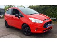 2017 Ford B-MAX 1.0 EcoBoost Zetec Red Edition Manual Petrol Hatchback