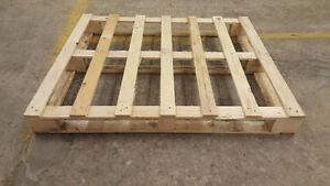 "40""x48"" block wood pallets"