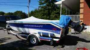 1997 Prince craft with 115 evenrude with trailer  Peterborough Peterborough Area image 7