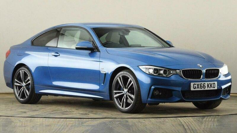 2016 BMW 4 Series 420d [190] xDrive M Sport 2dr Auto [Prof Media] Coupe diesel A
