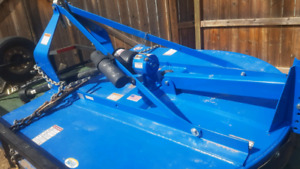 New Holland brush mower 5 foot  3 point hitch