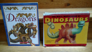 2 Dinosaurs and Dragons children's books
