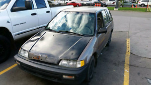 EF Honda Civic Wagon Part Out