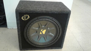 SUBWOOFER KICKERS 12 P