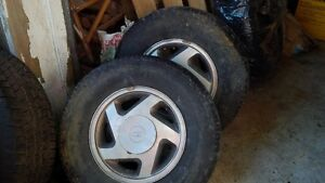 """Four Alloy 15"""" rims for FORD"""