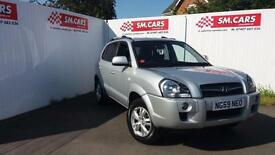2010 59 HYUNDAI TUCSON 2.0 CRTD STYLE,FINANCE AVAILABLE,RECENT TIMING BELT.2KEYS