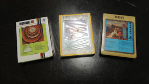 3 new sealed 8 track tapes