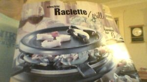 RACLETTE ELECTRIC GRILL SERVICE FOR 6