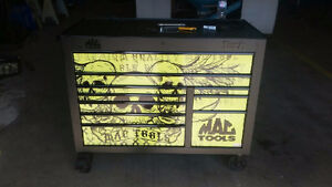 Mac tools extra wide limited edition tool box