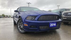 2014 Ford Mustang CONVERTIBLE 3.7L V6 PREMIUM HEATED LEATHER SEA