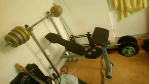 Old school home gym (QRA:Strength +)