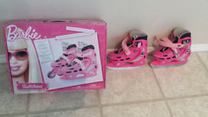 $60 - Almost New Barbie® 'Switchers' Ice/Roller Skat. Size 8-11