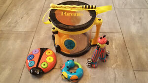 Bee Bop Band musical intstruments by Parents magazine - toddlers