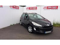 209 59 PEUGEOT 308 ESTATE SW 1.6 HDi S (110BHP) 1OWNER FROM NEW.FULL S/H,FINANCE