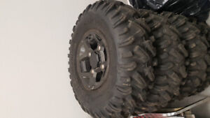 Rims and tires off a Rzr