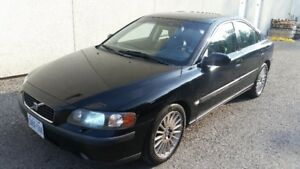 **SOLD FIRM** 2001 VOLVO S60 T5 MANUAL 5 SPD