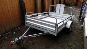 Stirling 5x7 galvanized trailer