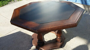 Solid Wood Table (Octagon shape) Peterborough Peterborough Area image 3