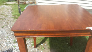 Pub table 4'x4' Solid wood