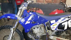 2005 yzf 250 needs sold price is firm . Fresh engine 100% mint