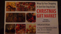 3rd Annual Christmas Gift Market
