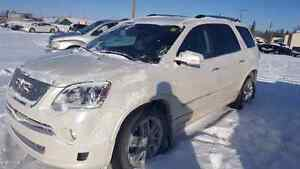 2012 gmc acadia Denali diamond white AWD