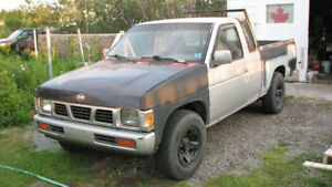 Nissan pickup project