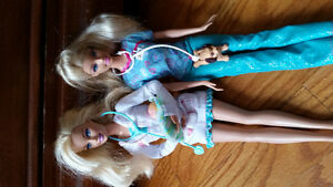 Doctor and vet barbies