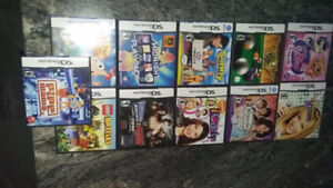 selling MY DS games will accept best offer