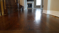 stairs and Harwood floors refinishing