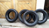 A set of 4 -  225/60R16 winter tires