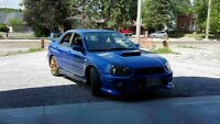2002 wrx converted to 05