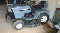 Lawn Tractor and Snow Blower $1500