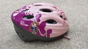 Girls bike helmet.