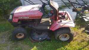 """12 hp 38"""" cut Lawn tractor for parts"""
