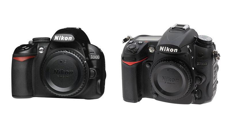 Review: Nikon D3100 vs. D7000