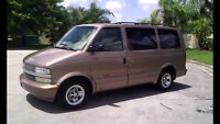 Looking for a 1998 or newer AWD Astro/Safari van