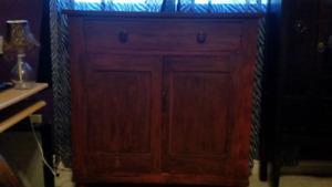 antique cabinet-dresser