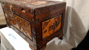 Beautiful hand carved and vintage antique furniture