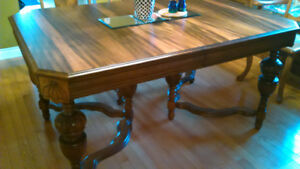 Walnut dining room SOLD pending pickup