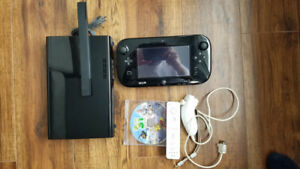 WiiU 32GB with 3 games, extra controller, all hookups