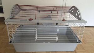 Cage à lapin/cochon d'inde à vendre. Accessoires inclus