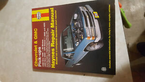 1988-2000 gm truck Haynes repair Manual