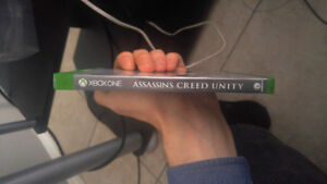 Jeux Xbox one assassin's Creed Unity  excellente condition