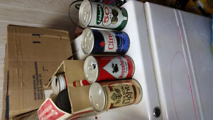 Giant beer can collection London Ontario image 2