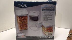 Rival Seal-A-Meal Vacuum Food Sealer Accessory Kit in Original Box VSA3