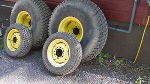 John Deere Original Rims and Turf Tires