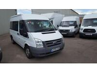 Ford Transit 2.2TDCi Duratorq ( 115PS ) 300M ( Med Roof ) Shuttle 300 MWB